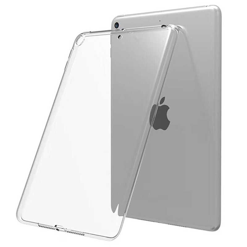 Case Voor Ipad 10.2 2019 Mini 2 3 4 5 Tpu Transparant Siliconen Shockproof Cover Voor Nieuwe Ipad 2017 2018 pro 10.5 Air 1 2 Back Case