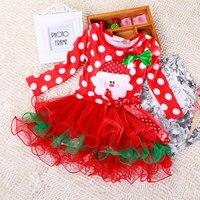 Retail Children Christmas Clothing Baby Boys And Girls Christmas Dress Xmas Dress Santa Claus Costumes Baby