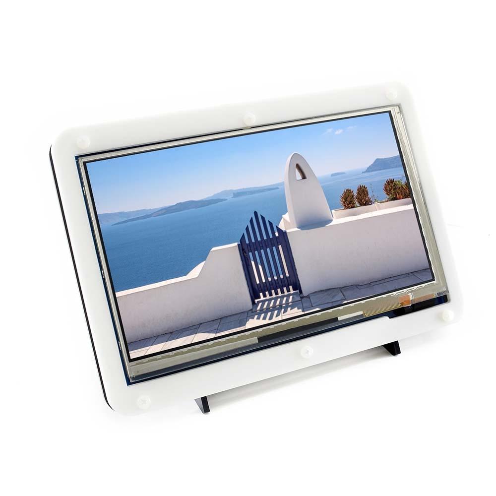 Waveshare 7inch HDMI LCD (C) երկկողմանի պատյանով, - Համակարգչային արտաքին սարքեր - Լուսանկար 3