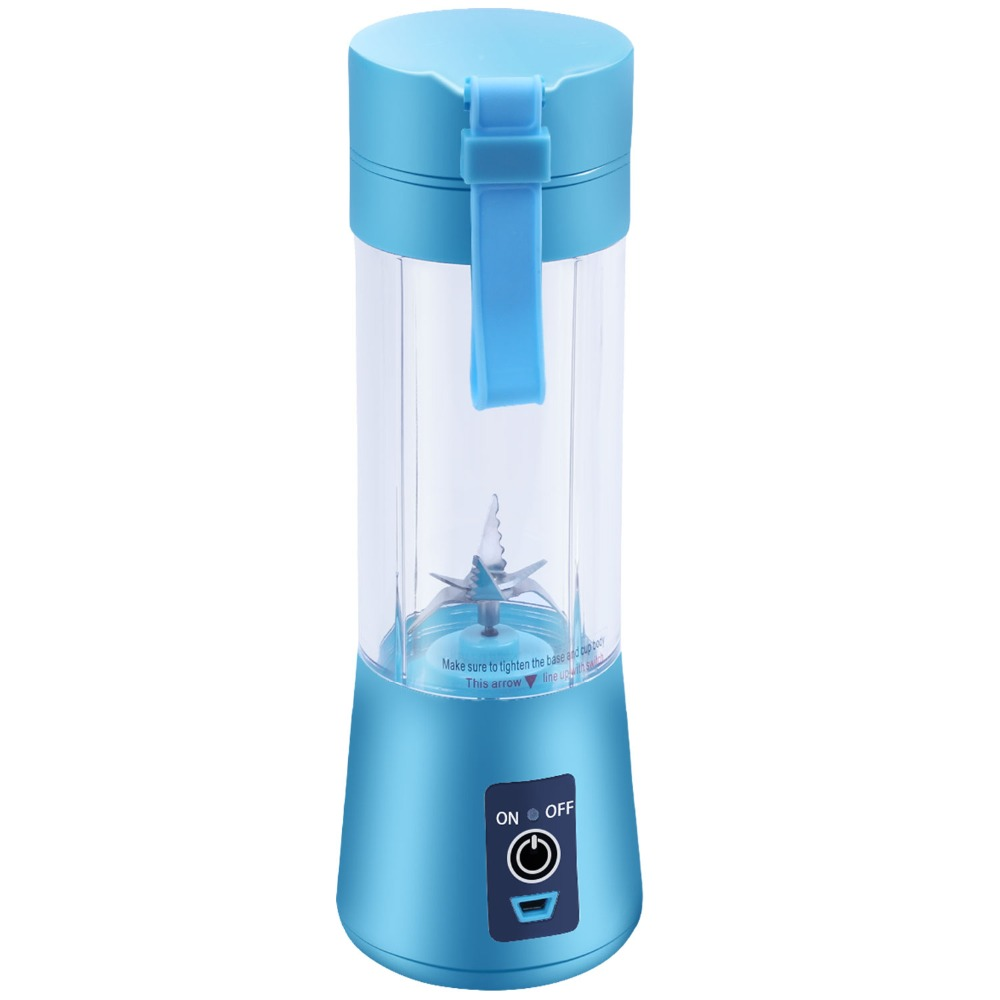 400ml usb portable juicer and personal blender juicer cup multi-function with six blade mixing machine