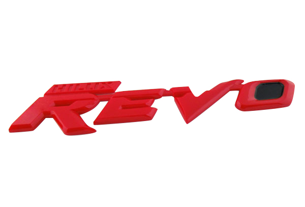 Auto car Red Black HILUX REVO for REVO M70 M80 Emblem Badge Sticker 2pc free shipping hilux revo racing side stripe graphic vinyl sticker for toyota hilux decals