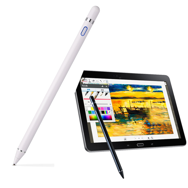 Lápiz óptico para Apple Pencil Tablet lápiz táctil de alta precisión para iPad Air Pro/1/2/ 3/4 mini 4 tableta pluma