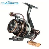 Super High Quality Tsurinoya JAGUAR2000 Spinning Fishing Reel,Double Spools,9+1BB,5.2:1 Metal Fishing Reel jaguar reel