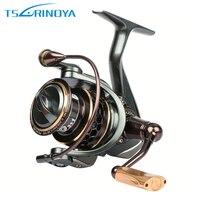 Super High Quality Tsurinoya JAGUAR2000 Spinning Fishing Reel Double Spools 9 1BB 5 2 1 Metal