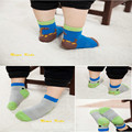 Spring new children's cartoon fun heel socks cotton relent baby socks dispensing non-slip floor socks