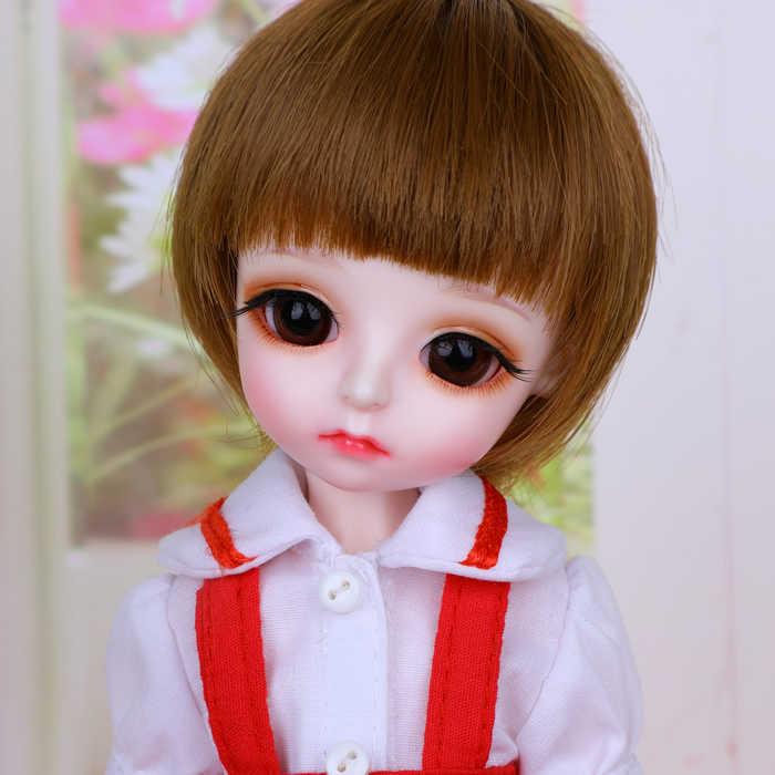 1/6 BJD Boneca BJD/SD Lovely Cute Daisy Resina Modelo Joint Boneca Para O Bebê do Aniversário Da Menina Presente Presente olhos