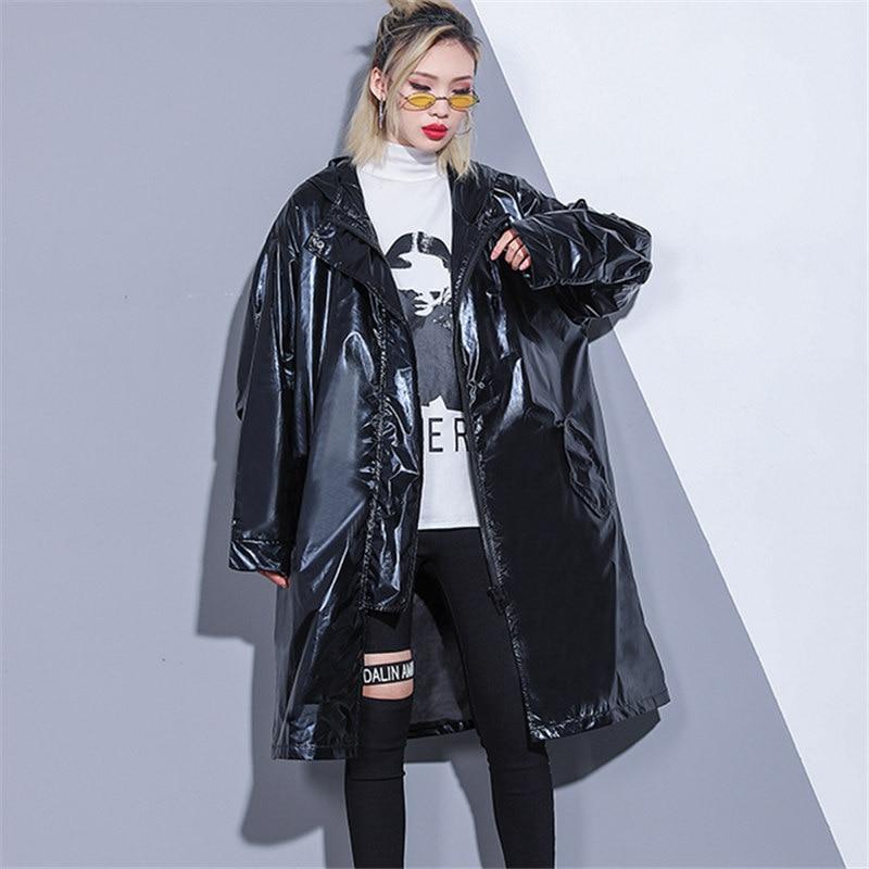 Manteau Coupe Printemps De Femmes Vent Nouveau Streetwear 0kXnP8wO