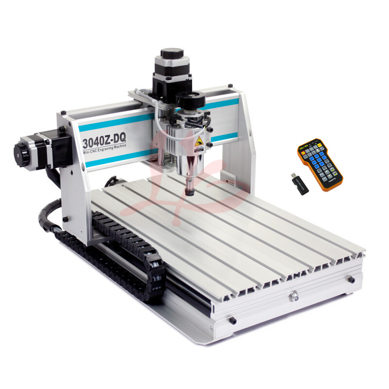 Free tax shipping to EU! CNC milling machine 3040 3axis mini CNC Router with mach3 remote control for DIY wood wroking eru free tax cnc router mini engraving machine diy cnc 3040 4axis wood router pcb drilling and milling machine