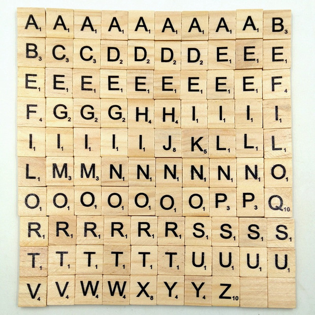 Where Can I Buy Scrabble Letters For Crafts