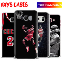 Michael Jordan MJ Coque Mobile Phone Case Cover For Samsung Galaxy S4 S5 S6 S7 Edge S8 Plus Note 8 2 3 4 5 A5 A710 J5 J7 2017
