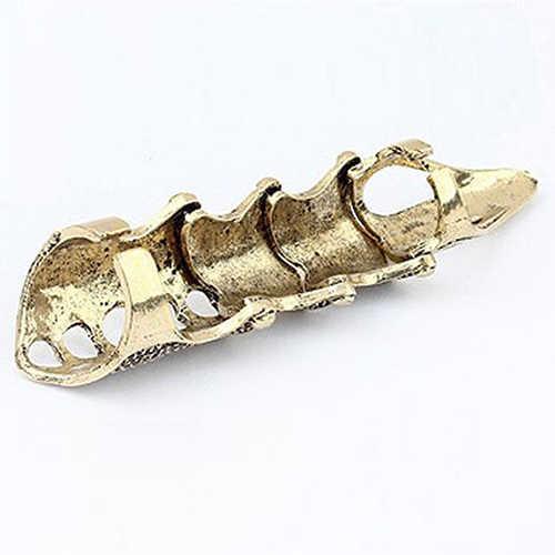 Для мужчин женщин готический панк сустава Костяшки Полный коготь на палец кольцо состояние мужчин t ювелирные изделия