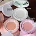 Almofada de Ar cc Creme Corretivo protetor solar hidratante fundação maquiagem nua rosa cor verde natureza