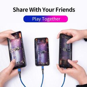 Image 5 - Power4 cep telefonları için USB kabloları 3 in 1 için iPhone şarj kablosu için USB C tipi yıldırım mikro USB kabloları için Android şarj