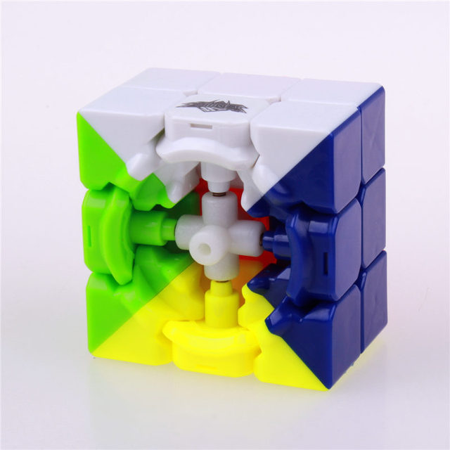 3×3 Cyclone Boys Stickerless Puzzle Magic Speed Cubes 56 mm Professional Classic Educational Toys