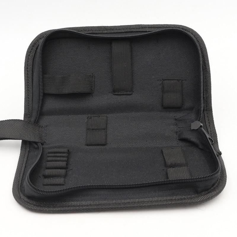 Watch Repair Tool Bag Professional Watchmaker Instrument Packaging Portable Nylon Zip Bag Watch Repair Tool Storage Bag Case