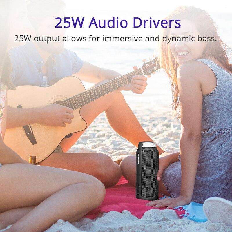 Tronsmart Élément T6 Bluetooth Haut-Parleur Portable Soundbar Bluetooth 4.1 Récepteur Audio Sans Fil Mini Haut-Parleur pour La Musique MP3 Lecteur - 3