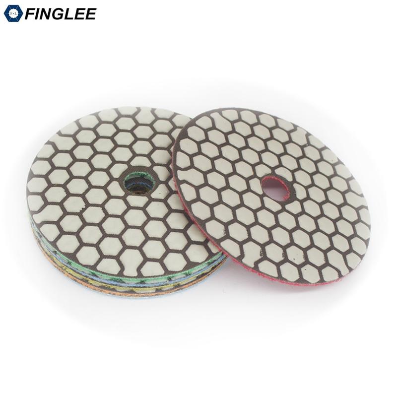 FINGLEE 7ks 4 palce / 100 mm úhlové brusky Diamond flexibilní - Elektrické nářadí - Fotografie 4