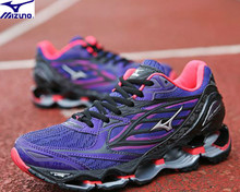 Mizuno Wave PROPHECY 6 Professional Women Shoes Running Shoes Sport Sneakers Mesh ventilation Weightlifting Shoes P Size 36-41