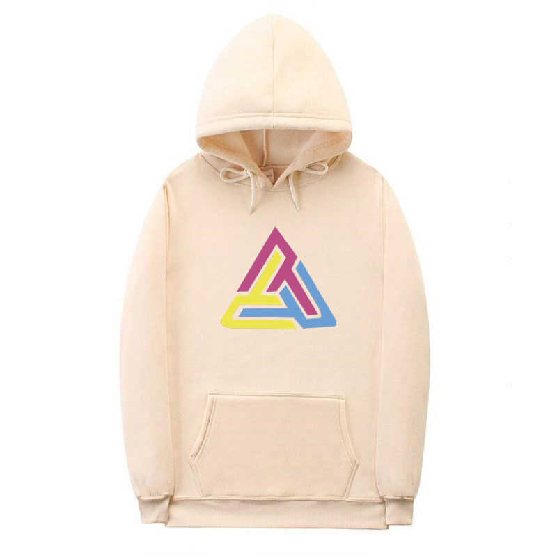Fashion Colorful Hoodies Men's BLACK PYRAMID Thicken Clothes Winter Sweatshirts Men Hip hop Streetwear Fleece Man Hooded Hoody