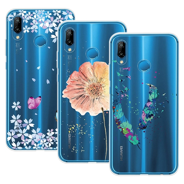 yokata case for huawei p20 lite case cover fundas for girls clear