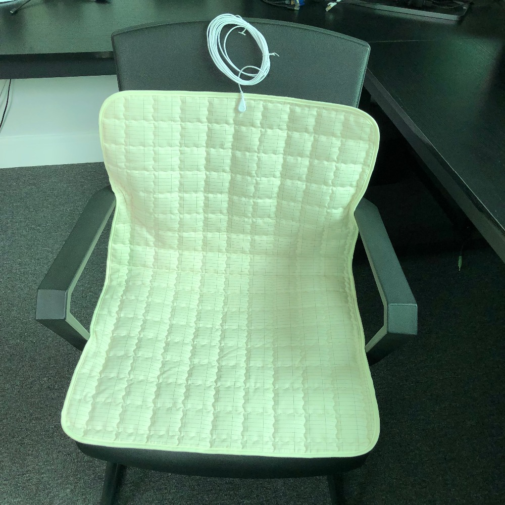 Grounded Plush Silver Sleep Pad Throw Pad 20 X 27.5 Inch ( 50*70cm ) Connect To The Earth Sofa Cushion