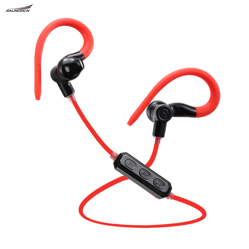 Voice Control M1 Bluetooth 4.1 Wireless Running Sport Headses
