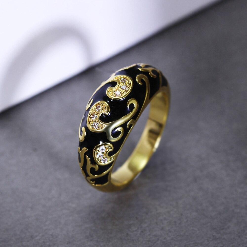 DreamCarnival1989 Nuevo diseño tallado anillo de compromiso popular - Bisutería - foto 4