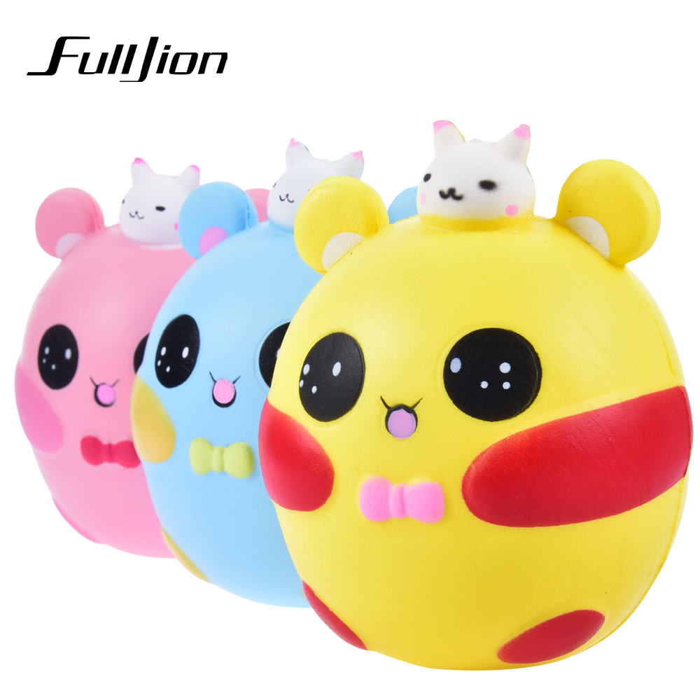 Fulljion Fun Antistress Squishy Pig Rabbit Novelty Gag Toys Squishe Stress Relief Toys Anti-stress Gadget Gags Practical Jokes колесные диски nitro y 244 6x14 5x100 d73 1 et38 bfp