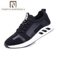 Northmarch Лидер продаж, мужские повседневные туфли Эластичная лента Для мужчин кроссовки воздухопроницаемая комфортная обувь Мужская обувь ле