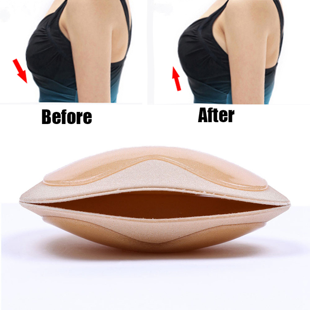 Self Adhesive Invisible Breast Silicone Push Up Nipple Cover Pads