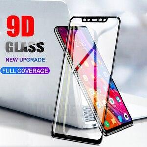Image 1 - Protector de pantalla de vidrio templado 9D para Xiaomi, Protector de pantalla de vidrio templado para Xiaomi Mi 8 SE Mi 8 Lite