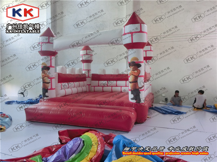 Pink Lattice house Inflatable jumping castle Inflatable bouncy castle
