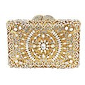 Deluxe Crystal Clutch bags Crystal Rhinestone Vines Wedding Prom Party Clutch Handbags and Evening Clutch Bags for Women 88247