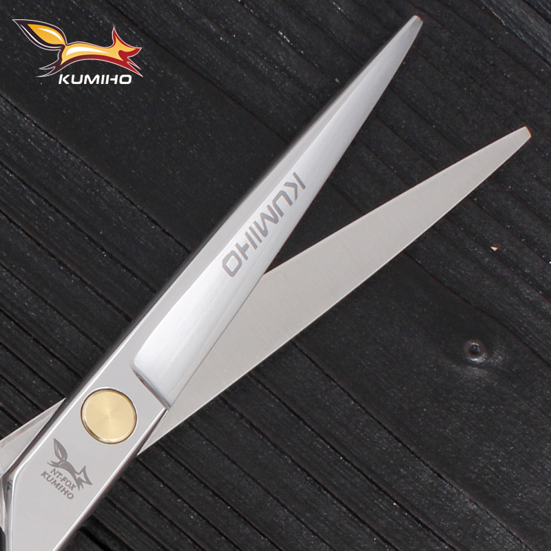 Mikro serrated bıçaqla professional bərbər qayçı yüksək - Saç qayğı və üslubu - Fotoqrafiya 5