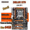 HUANAN Golden Deluxe X79 Gaming Motherboard Intel LGA 2011 ATX Support 4 X 16GB 64GB Memory