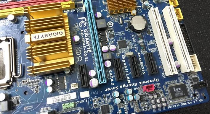 original desktop motherboard for Gigabyte GA EP43 DS3L LGA775 DDR2