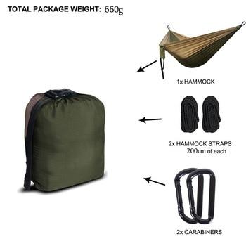 Camping Parachute Hammock Survival Garden  1