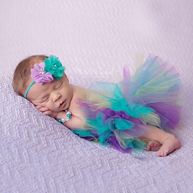 Fashion-2017-New-Style-Newborn-Baby-Girls-Clothes-Set-Newborn-Baby-Photography-Props-Kids-tutu-For-Girls-Skirt-And-Headwear-4
