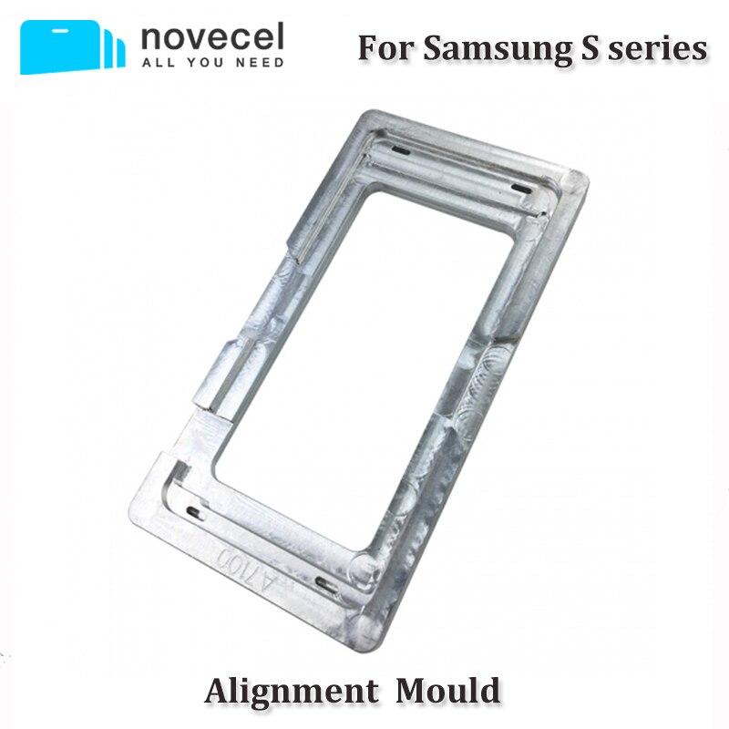 1 pcs Moule De Précision En Aluminium Alignement Moule Pour Samsung S4 i9500 S5 G900 S6 G920 S7 G930 S5 Neo G903 s5 MINI G800 S4 MINI