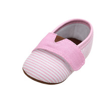 Delebao Brand Baby Girl Shoes Cotton Fabric Butterfly-knot First Walkers Slip-On Soft Sole Spring/Autumn Toddler