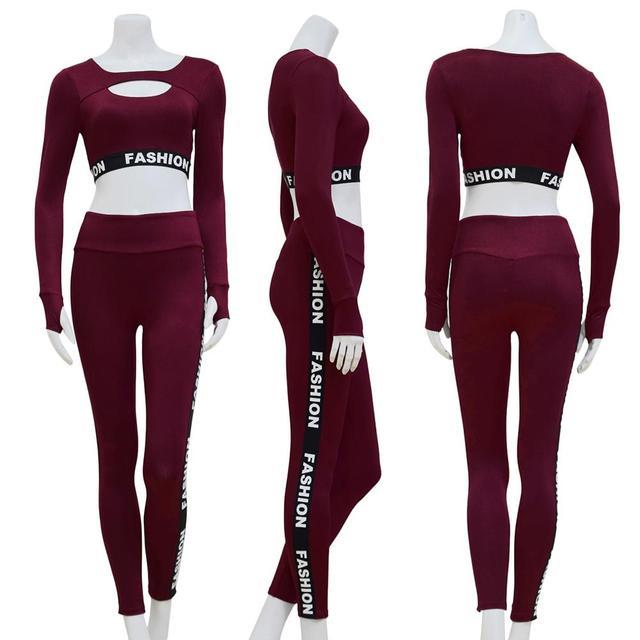 Blossom Fitness Clothing Set