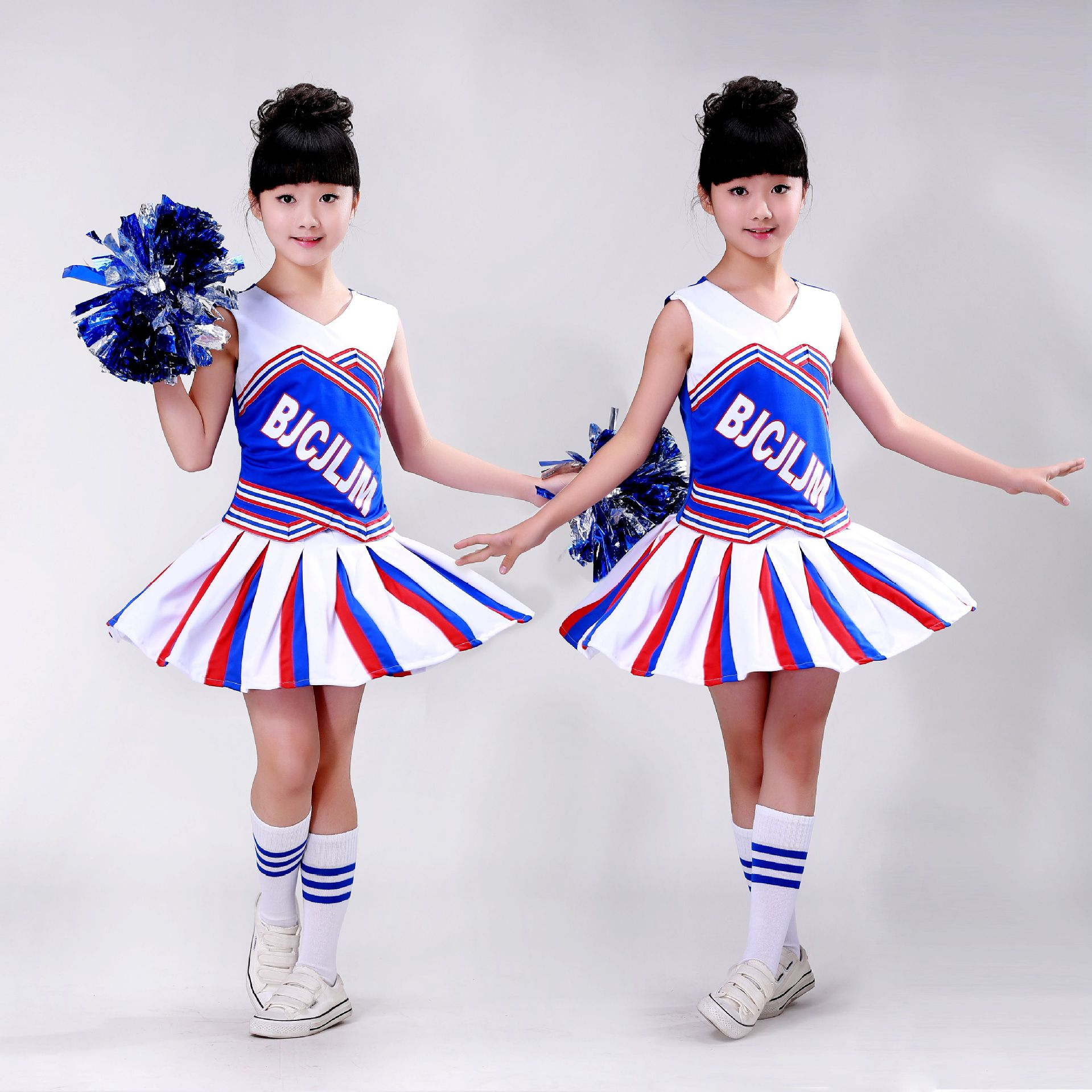 Children's Cheerleading Costumes Kids Elementary School Students Boys Girls' Dance Uniforms Children's Cheerleading Costumes