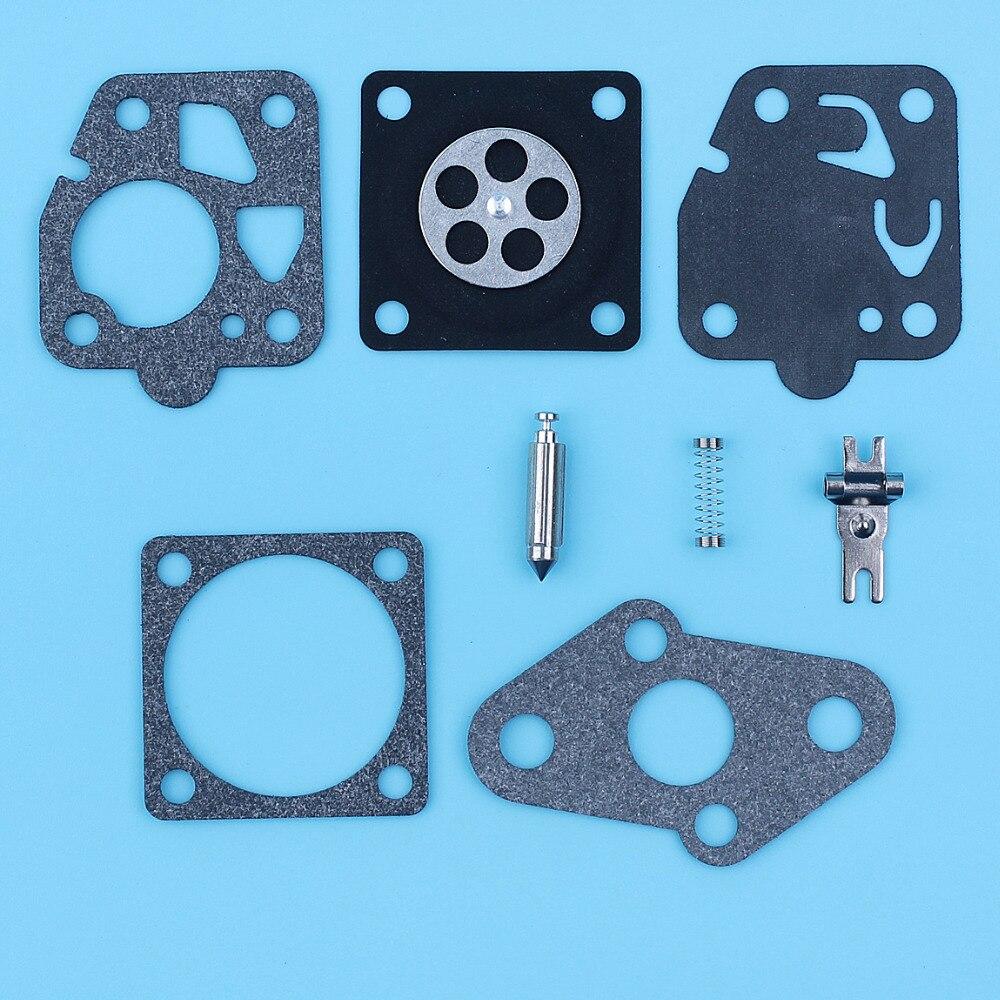 Carburetor Repair Rebuild Kit For Kawasaki TD24 TD25 TD33 TD40 TD48 TG20 TG24 TG25 TG33 Carb Diaphragm Gasket Set