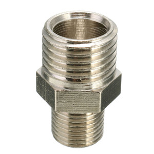 1x Male Airbrush Hose 1/4'' BSP Male to 1/8'' BSP Adapter Fitting Connector for Mini Air Compressor(China)