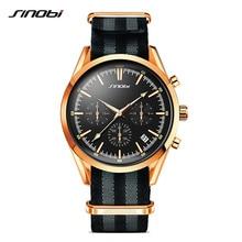 SINOBI Spy 007 Men s Golden font b Sports b font Wrist font b Watches b
