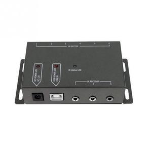Image 5 - Ir extensor remoto transponder 1 receptor 4 emissores infravermelho sistema repetidor