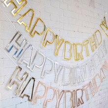 Happy Birthday Lavala Flag Adult Child Letter Decoration Four Seasons Wonderland Wedding And Gifts