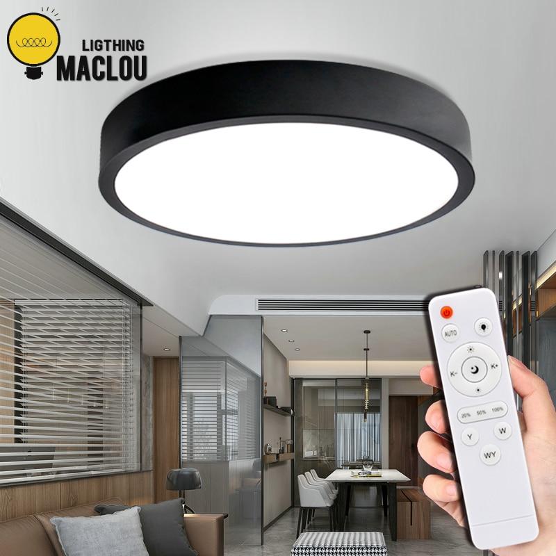 Modern Led Ceiling Light Remote Control Lighting Fixture Led Ceiling Lamp Bedroom Living Room Light Surface Mount Led Panel Lamp Ceiling Lights Aliexpress