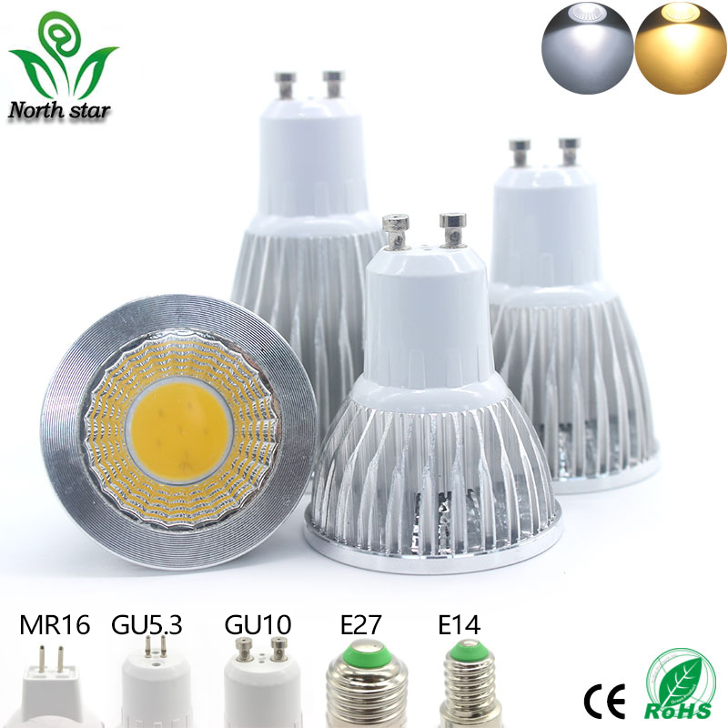 2016 New led bulb E27 E14 Lampada Led MR16 GU5.3 COB 9w 12w 15w ...