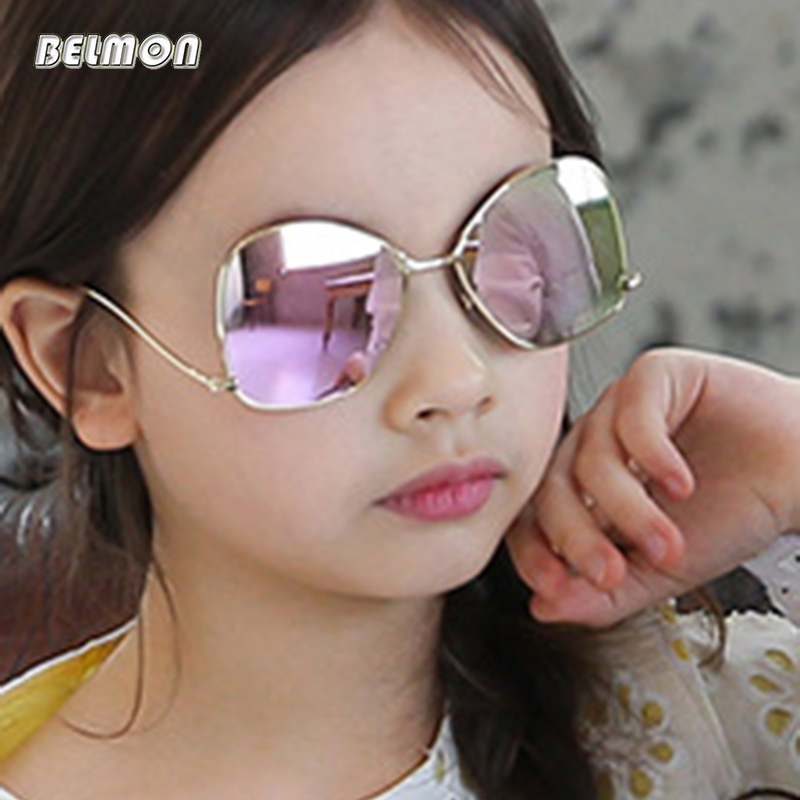 2019 Neuestes Design Belmon Kinder Sonnenbrille Modemarke Designer Sonnenbrille Jungen & Mädchen Baby Geeignet Für Kinder Im Alter Von 5-12 Gradient Rs527